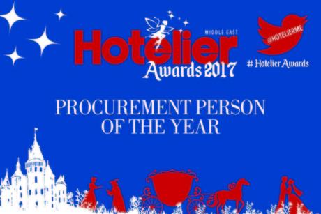 Hotelier Awards 2017 shortlist: Procurement Person