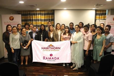 Ramada Downtown Dubai, Hawthorn Suites Wyndham JBR team up for breast cancer