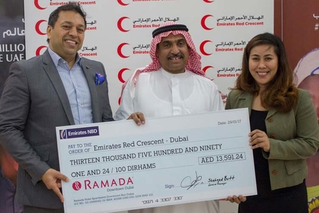 Ramada Downtown Dubai helps to fight cancer