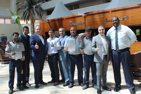 Radisson Blu Resort, Sharjah receives Safehotels certification