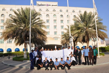 Radisson Blu Hotel, Muscat awarded premium Safehotels certification