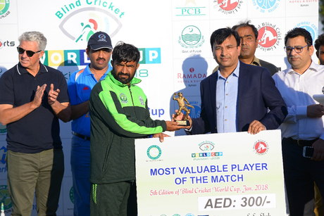 Ramada Ajman inaugurates the 5th Blind Cricket World Cup 2018