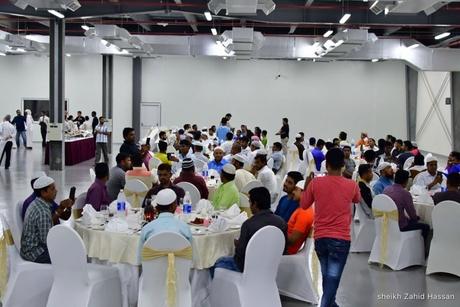 Ramada Ajman hosts charity iftar for labourers