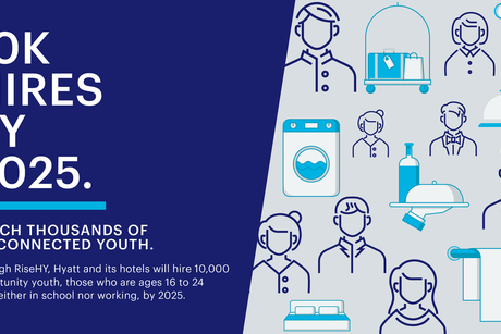 Hyatt launch global programme to hire 10,000 opportunity youth by 2025