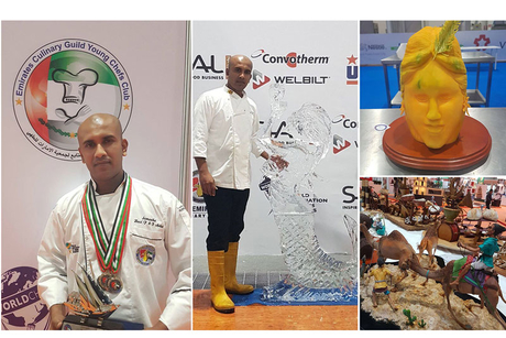 Samantha Kumara scoops four awards at Emirates Culinary Competition