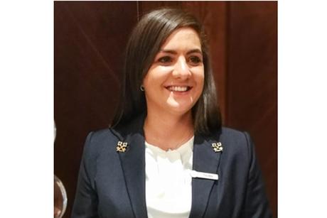 Four Seasons Hotel Amman chief concierge handed golden keys