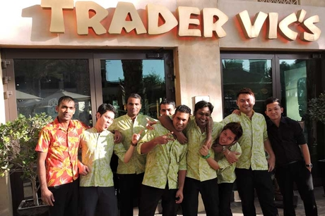 Trader Vic's Madinat rolls prices back to 2004