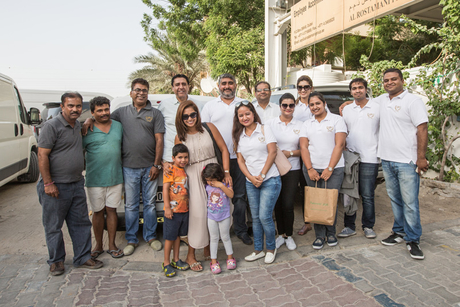 PHOTOS: UPI staff organise charity event for labourers