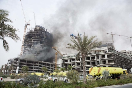 Viceroy Dubai Jumeirah Village catches fire