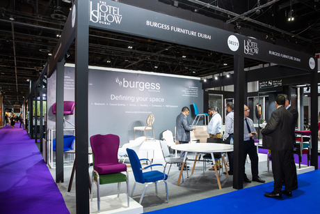 Burgess Furniture launches new space-saving table at The Hotel Show