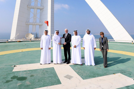 Burj Al Arab given first UAE helipad license