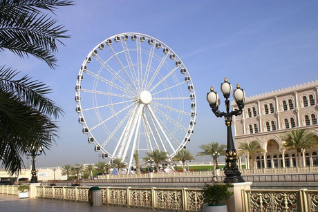 Sharjah's giant wheel gets a new home
