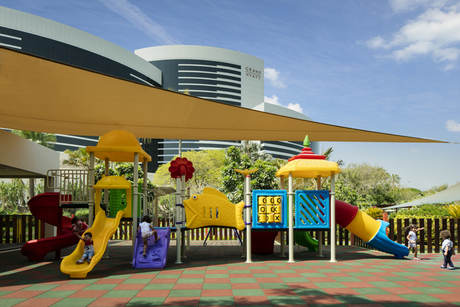 The Grand Hyatt Dubai reboots kids club for summer