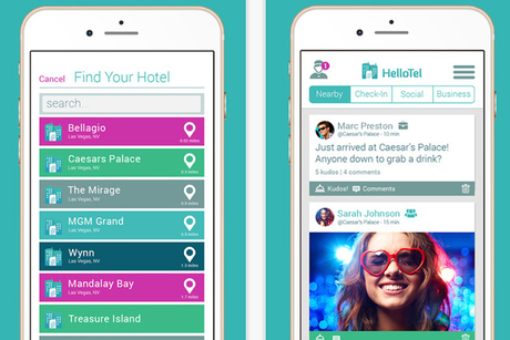 New mobile app allows hotel guests to connect