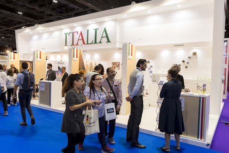 ITA showcases eight Italian companies at The Hotel Show Dubai 2018