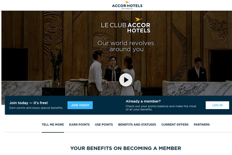 AccorHotels combines Fairmont, Raffles and Swissotel loyalty programmes