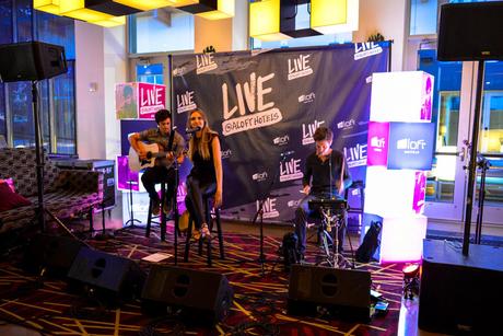 Marriott International's Aloft Hotels to support emerging musicians