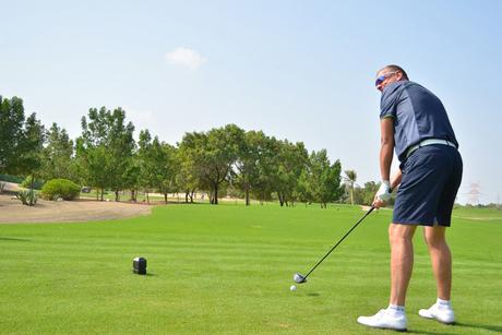 Bab Al Qasr Hotel hosts golf star in Abu Dhabi