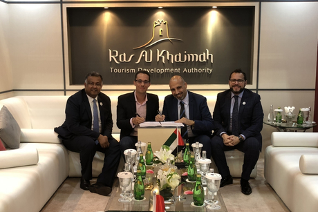 Golden Tulip signs MoU with RAK's Ice Land Water Park