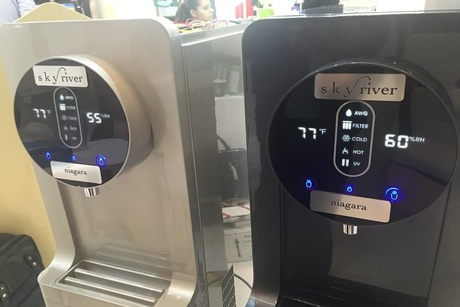 A machine that creates water from air targets F&B
