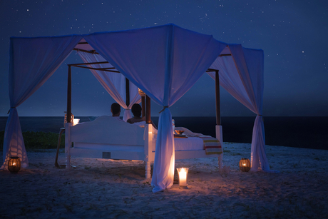 Anantara Medjumbe Island offers guests a 'star bed experience'