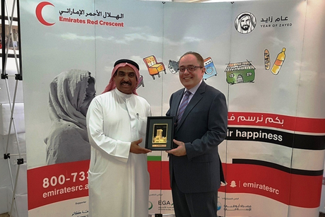Tamani Marina donates portion of iftar proceeds to UAE Red Crescent