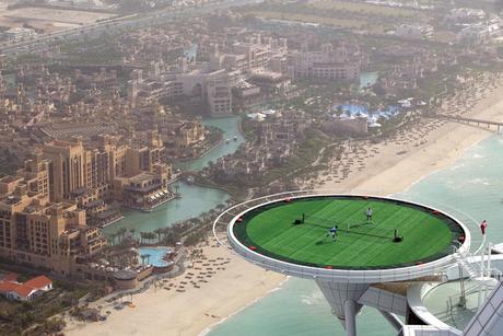 PHOTOS: Burj Al Arab helipad, the ultimate stage