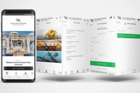 Waldorf Astoria Dubai launches mobile ordering in outdoor areas