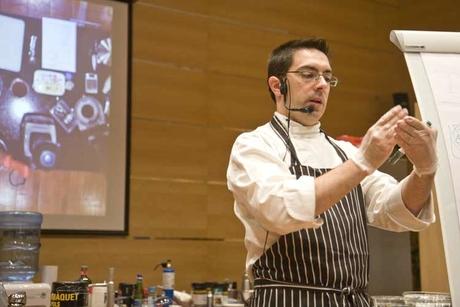 Chefs attend SOSA modern gastronomy demo in Dubai