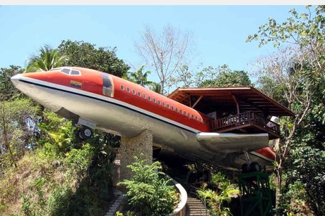 PHOTOS: Boeing 727 becomes $250-a-night suite