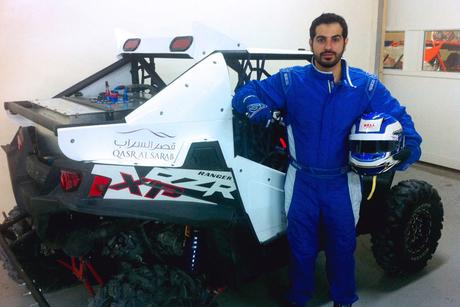Qasr Al Sarab sponsors Emirati rally driver