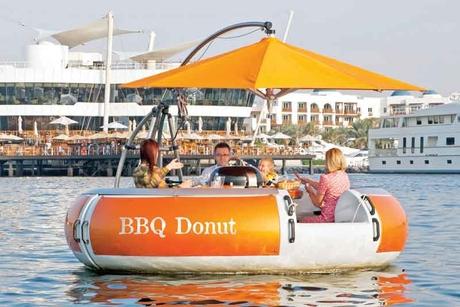 Floating BBQs to make a big splash on Dubai Creek