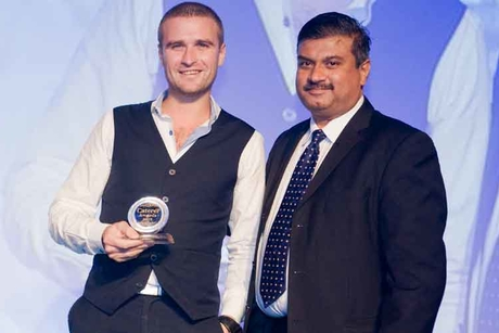 Okku bar manager takes coveted Caterer award