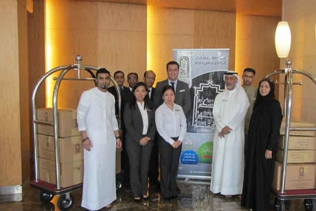 BurJuman Arjaan by Rotana supports Beit Al Khair