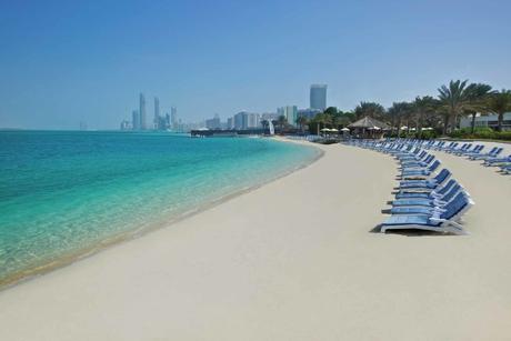 Hilton Abu Dhabi hotel beach awarded Blue Flag