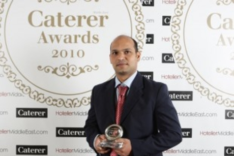 Who will be Caterer's kitchen hero 2011?