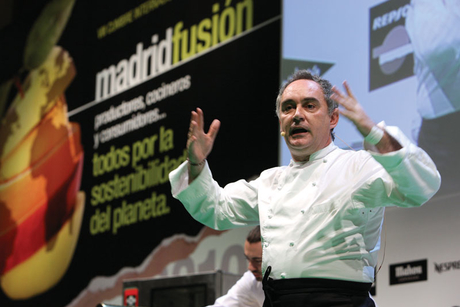 Celebrity chefs of Madrid Fusion discuss survival