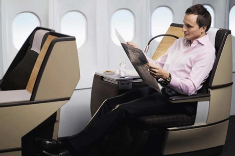 SWISS cabin proves a hit with passengers