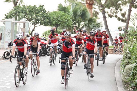 Starwood executive team completes charity ride