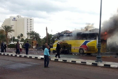 Four killed in Egypt tourist bus attack