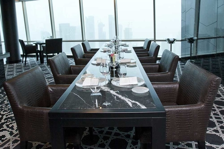 PHOTOS: First look at Doha's highest restaurant