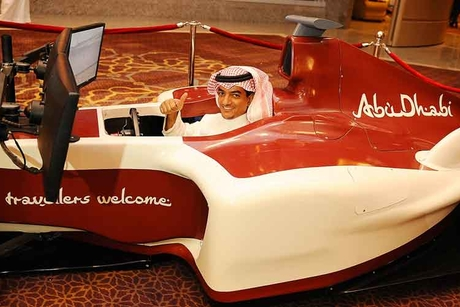 Abu Dhabi launches F1 challenge to boost tourism