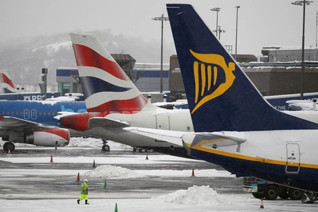 Expats stranded for Xmas as snow chaos hits Europe
