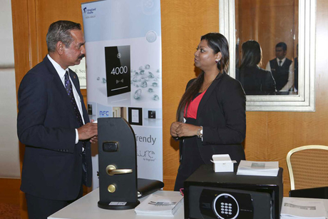 PHOTOS: Sights and stands at the Security Summit