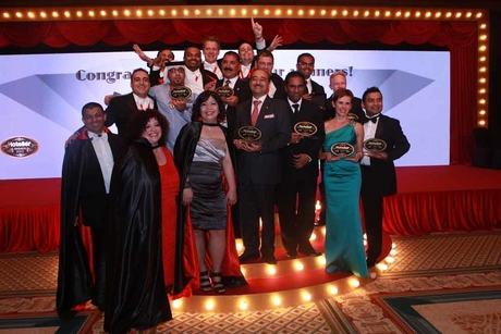 Hotel heroes crowned at Hotelier Awards 2012