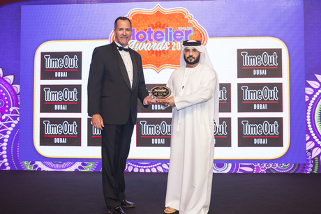 The H Dubai's Ibrahim secures a win at Hotelier Awards