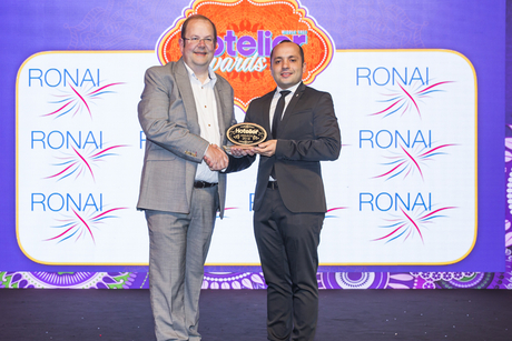 InterContinental Riyadh sales person claims a win at Hotelier Awards