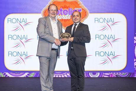 InterContinental Riyadh sales person claims a win at Hotelier Awards