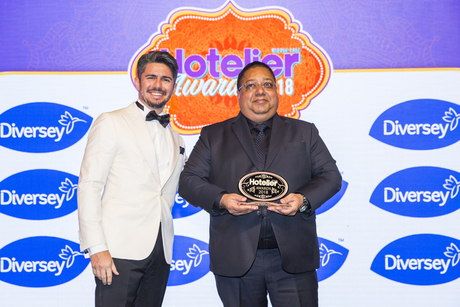 Kuldeep Singh cooks up a win at Hotelier Awards 2018 in Dubai