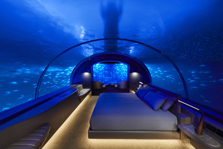 Conrad Maldives Rangali Island opens world's first partially underwater residence